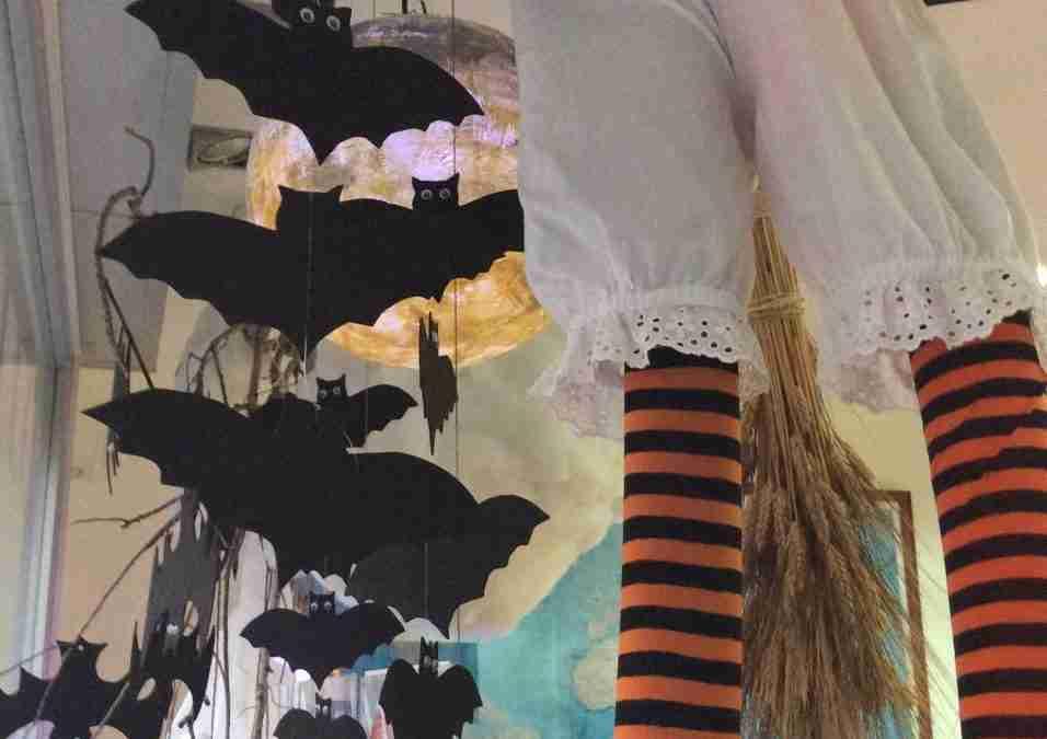 Murciélagos para halloween