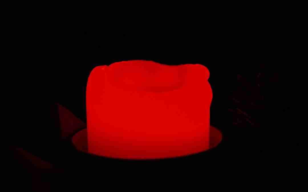 A la luz de una vela