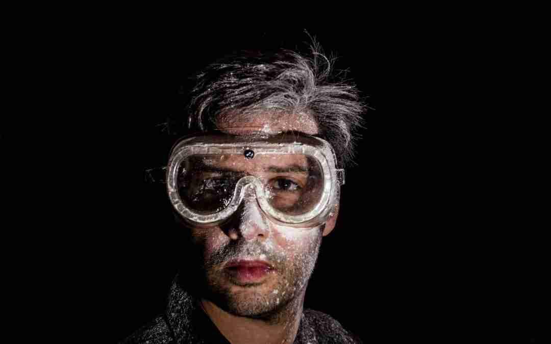 Uso de gafas de seguridad