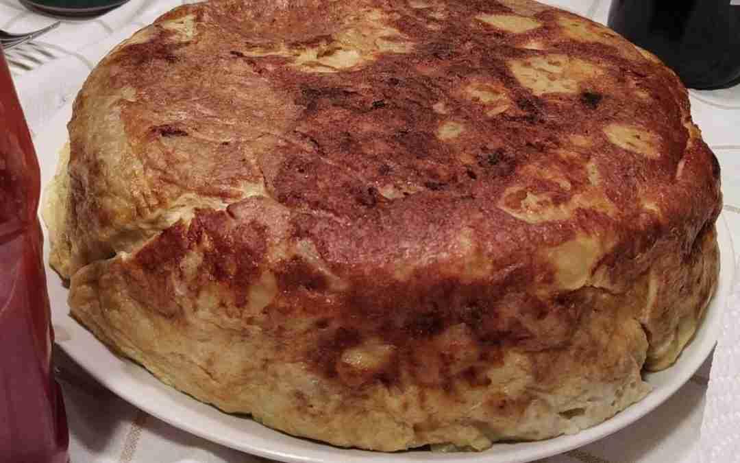 Tortilla de patatas en Olla GM modelo D